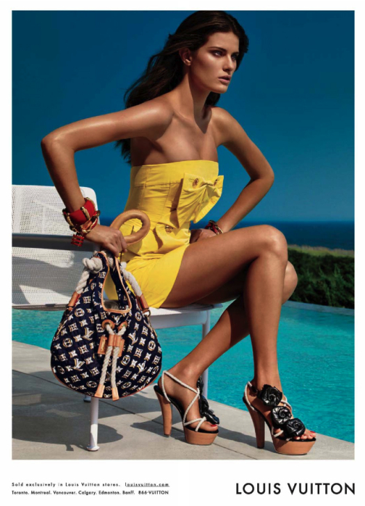 Isabeli Fontana <b>Louis Vuitton</b> Cruise 2010 By Patrick Demarchelier