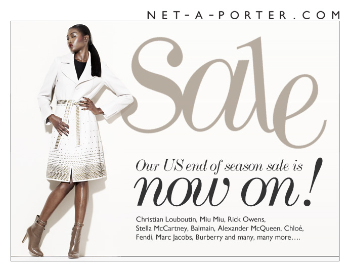The net a porter com sale is now live for Net a porter