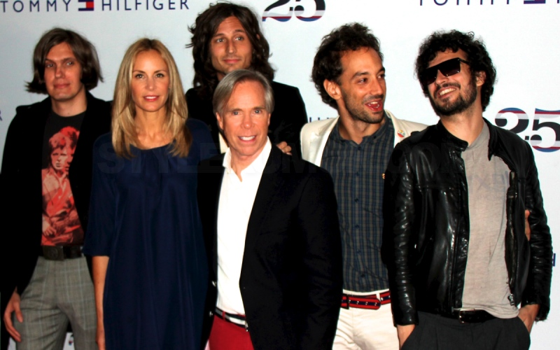 tommy-hilfiger-25-anniversary-party-the-strokes-2