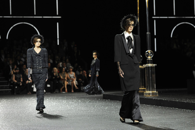 Chanel Haute Couture Fall Winter 2011 Collection at The Grand Palais 2