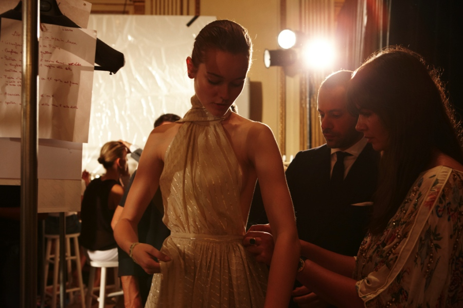 Ferragamo Cruise 2012 Backstage 1