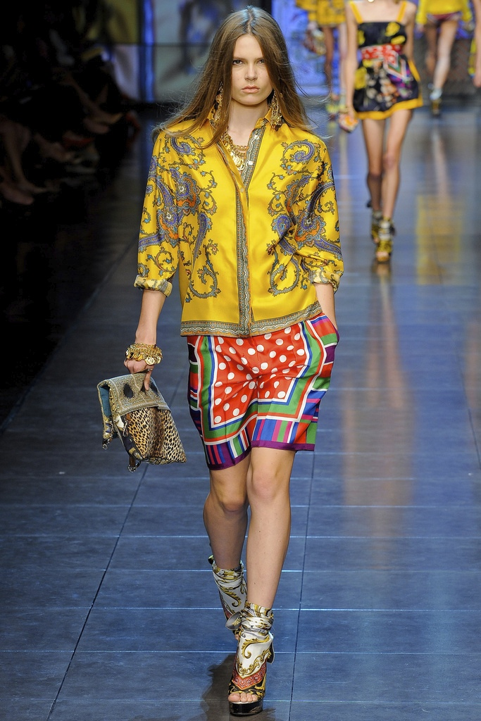 D&G Spring Summer 2012 Collection 10