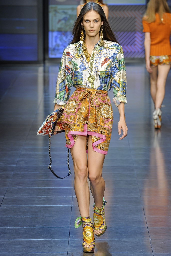 D&G Spring Summer 2012 Collection 12