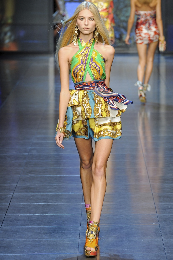 D&G Spring Summer 2012 Collection 17