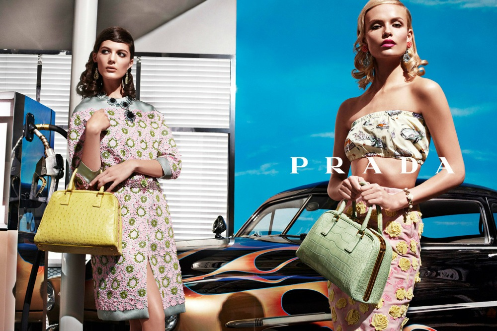 Prada Spring Summer 2012 Ad Campaign by Steven Meisel 9