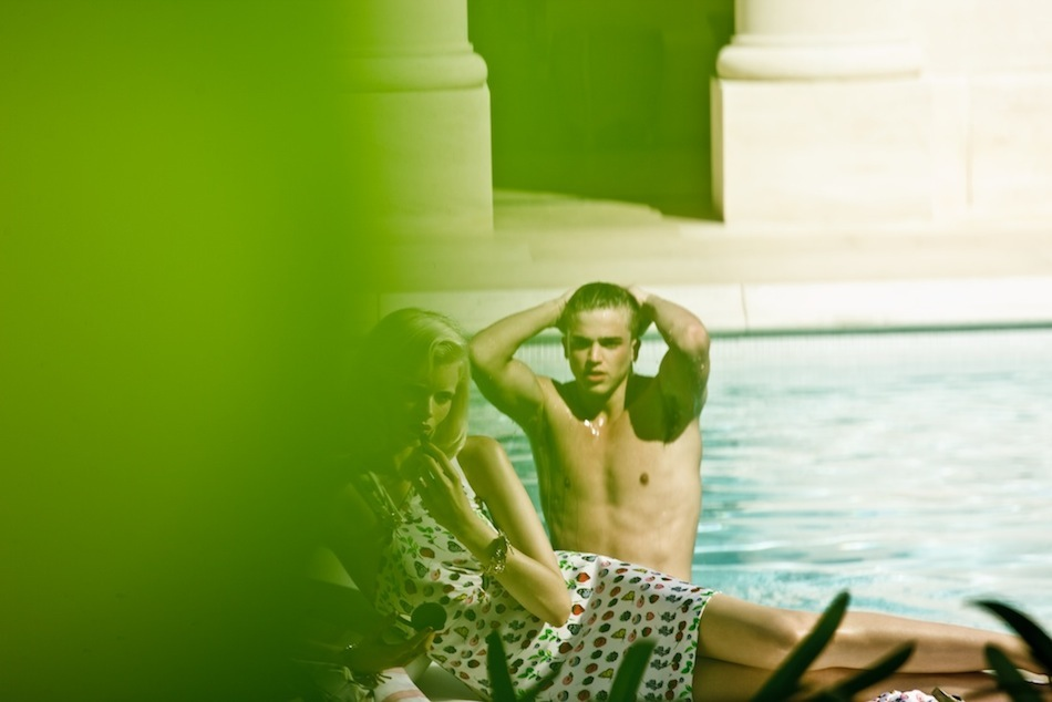 Making Of Versace for HM Cruise 2012 Ad Campaign 3