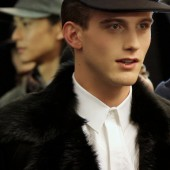 Qasimi Homme Fall Winter 2012 Backstage 14