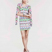 Versace for HM Cruise 2012 Collection Abbey Lee 1