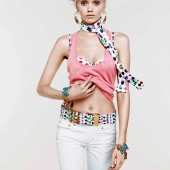 Versace for HM Cruise 2012 Collection Abbey Lee 5