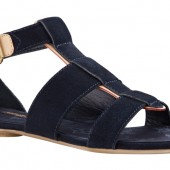 Louis Vuitton Summer 2012 Flat sandal in Suede Calf leather