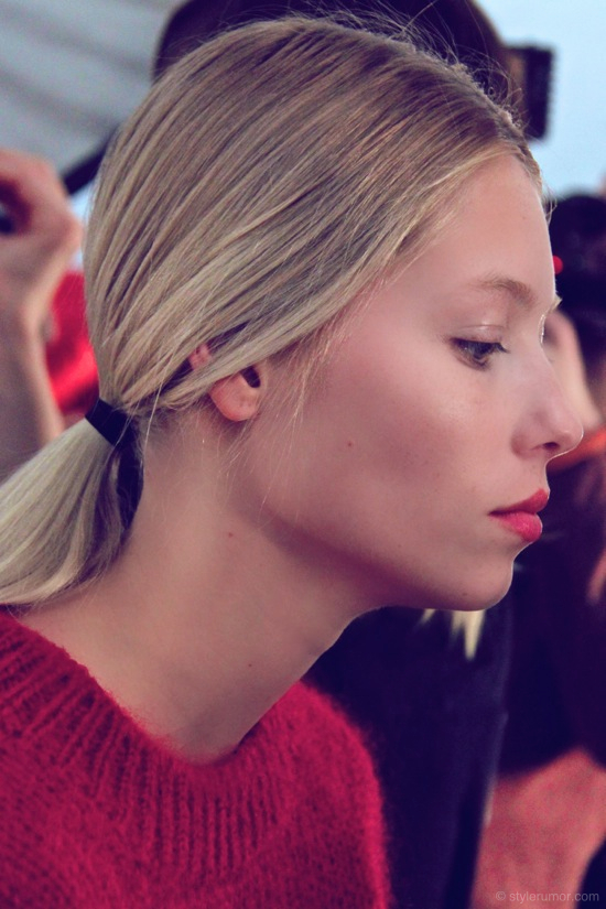 Tommy Hilfiger Fall Winter 2012 Backstage Beauty 22