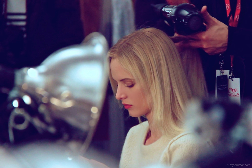 Tommy Hilfiger Fall Winter 2012 Backstage Beauty 8
