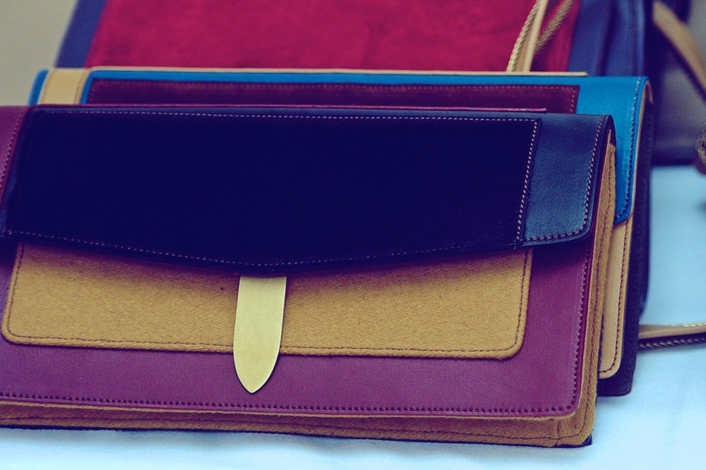 Tommy Hilfiger Fall Winter 2012 Clutches Backstage