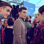 Tommy Hilfiger Fall Winter 2012 Menswear Backstage 1