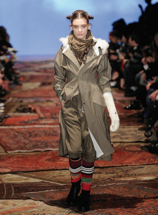 Y-3 Fall Winter 2012 Collection 1