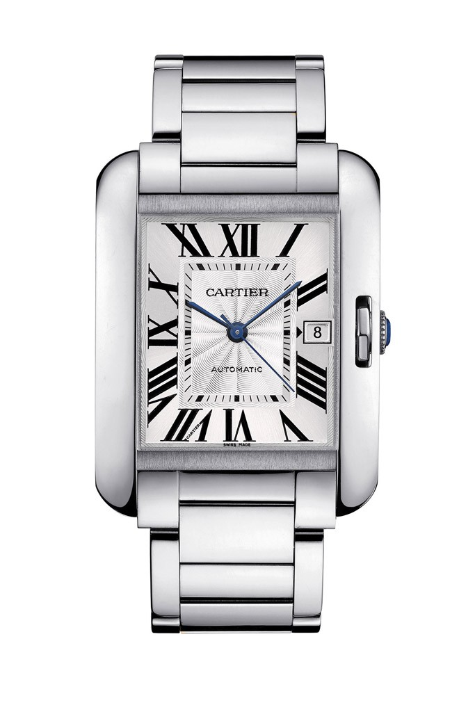 Cartier Celebrates New Tank Anglaise Watch