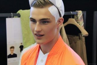 Backstage at Qasimi Homme Spring 2013 5