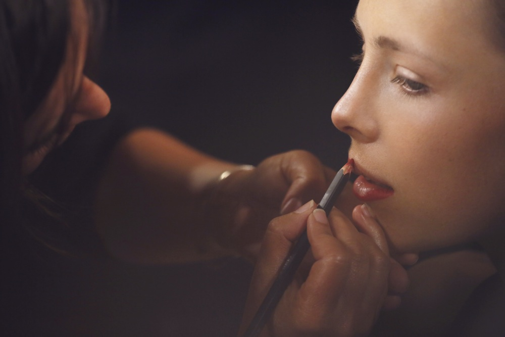 Burberry Beauty Backstage at the Burberry Prorsum Spring Summer 2013 Womenswear show 12