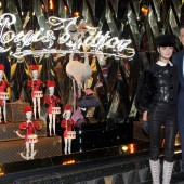 Loulou Robert et Roberto Eggs © Louis Vuitton - The Louis Vuitton Christmas of the Century at the Galleries Lafayette