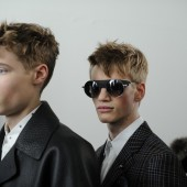 Backstage at The Louis Vuitton Fall Winter 2013 Menswear Show 14