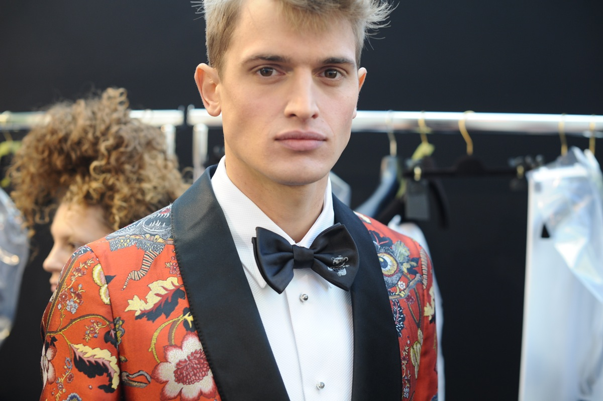 Backstage at The Louis Vuitton Fall Winter 2013 Menswear Show 15