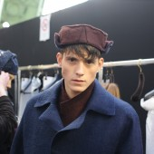Backstage at The Louis Vuitton Fall Winter 2013 Menswear Show 25