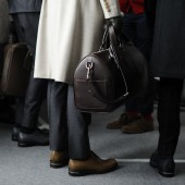 Backstage at The Louis Vuitton Fall Winter 2013 Menswear Show 28