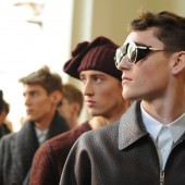Backstage at The Louis Vuitton Fall Winter 2013 Menswear Show 29
