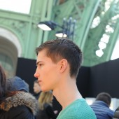 Backstage at The Louis Vuitton Fall Winter 2013 Menswear Show 6