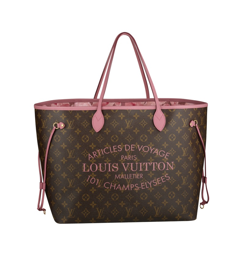 louis vuitton summer 2013 collection neverfull bag in