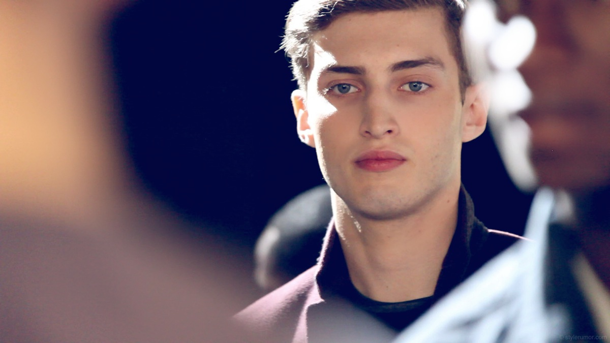 Backstage at Tommy Hilfiger Fall 2013 Menswear 8