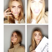 Burberry #BeautyBooth at the Burberry Prorsum Womenswear Autumn Winter 2013 Show 5