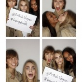Burberry #BeautyBooth at the Burberry Prorsum Womenswear Autumn Winter 2013 Show 6