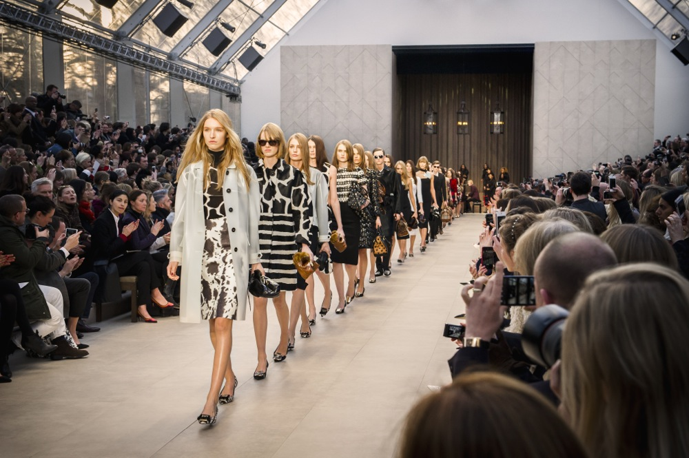 Burberry Prorsum Womenswear Autumn Winter 2013 Show Finale