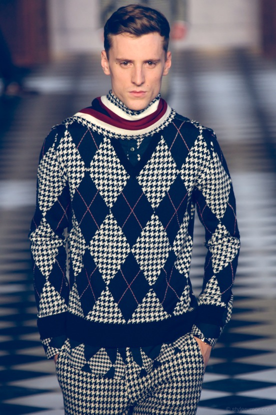 Tommy Hilfiger Fall Winter 2013 Menswear Collection 1