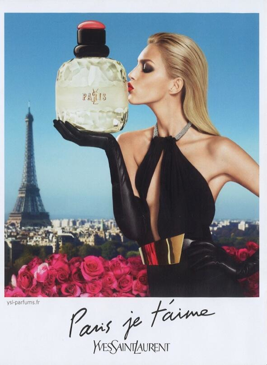 Anja Rubik Scores Two YSL Fragrances Campaign…