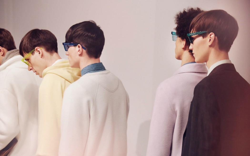 Backstage at the Burberry Spring Summer 2014 Menswear Show 1