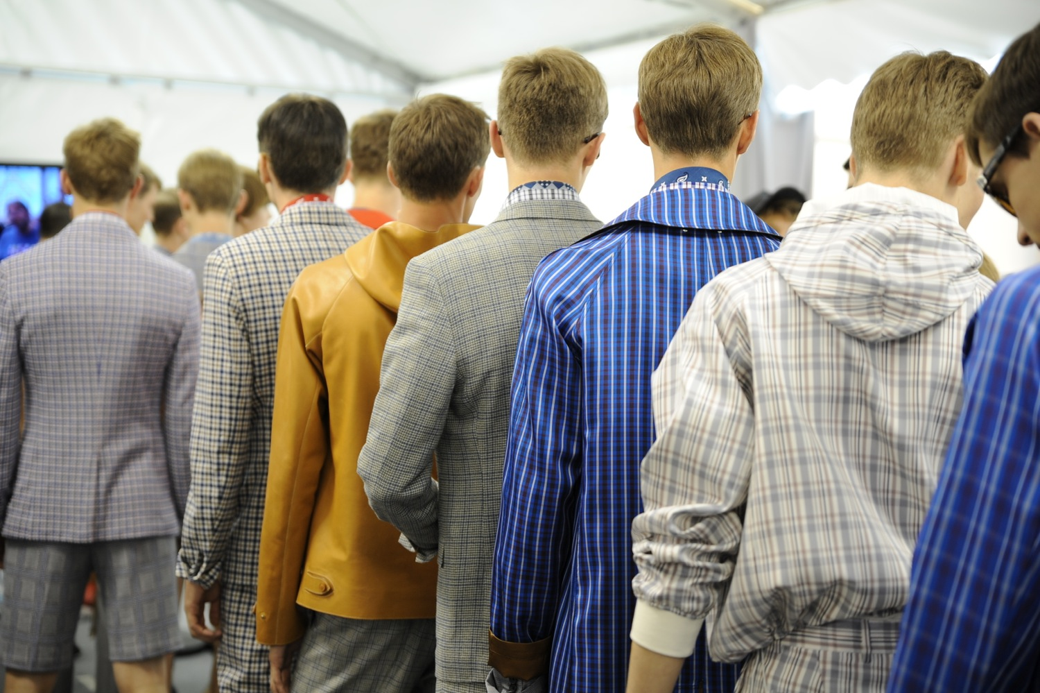 Backstage at the Louis Vuitton Men Spring Summer 2014 Show 17