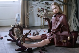 Mulberry Fall Winter 2013 Ad Campaign Featuring Cara Delevingne 5