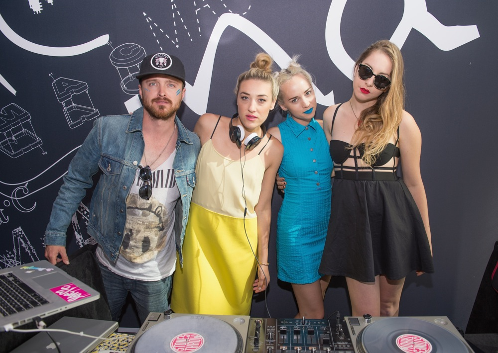 MAC Cosmetics & Haim Celebrate Lollapalooza Weekend