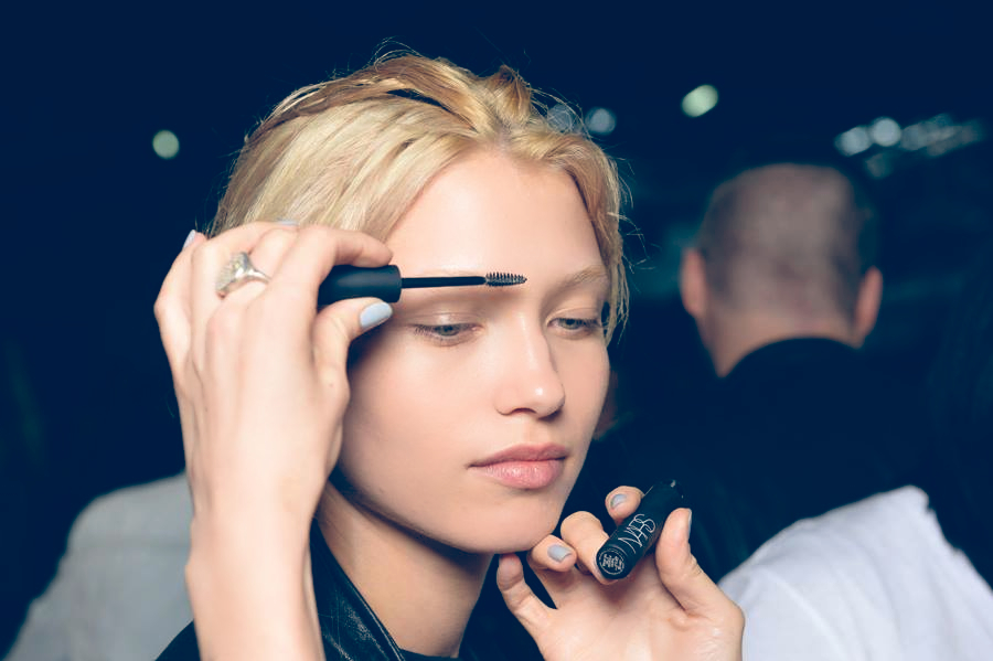 Alexander Wang Spring Summer 2014 Backstage Beauty