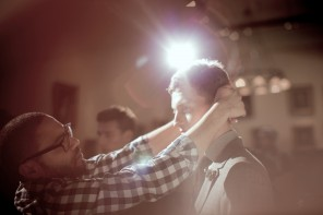 Backstage at Jack Spade Fall Winter