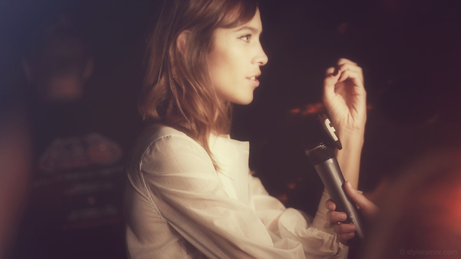 Backstage at the Alexa Chung Backstage at the Tommy Hilfiger Spring 2015 Show 22