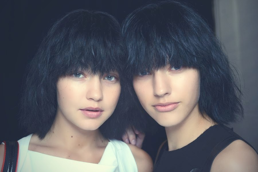 Backstage at the Marc Jacobs Spring 2015 Show 5