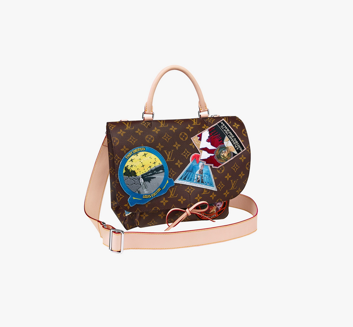 Louis Vuitton Camera messenger by Cindy Sherman