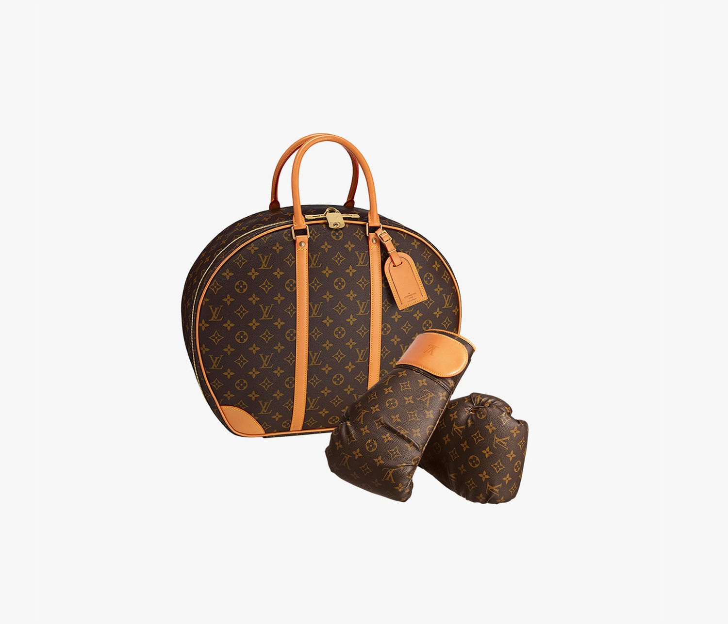 Louis Vuitton Punching Suitcase by Karl Lagerfeld