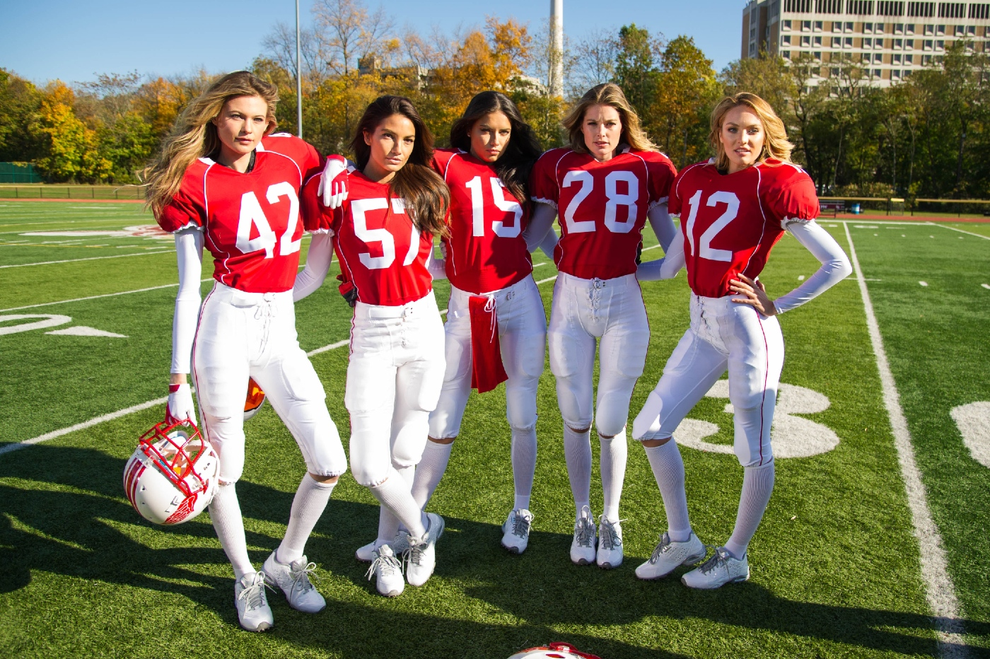 Valentines Day Super Bowl 2015 Behind The Scenes Victorias Secret 8