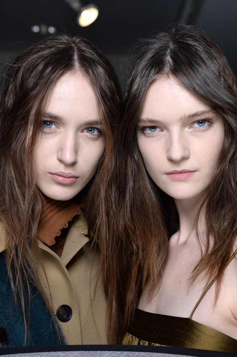 Backstage Beauty at the Creatures of the Wind Fall 2015 Show 1