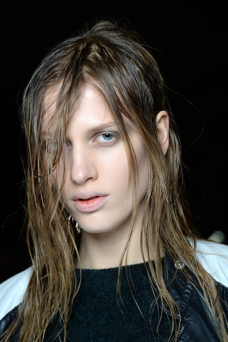 Backstage at the Alexander Wang Fall Winter 2015 Show 1