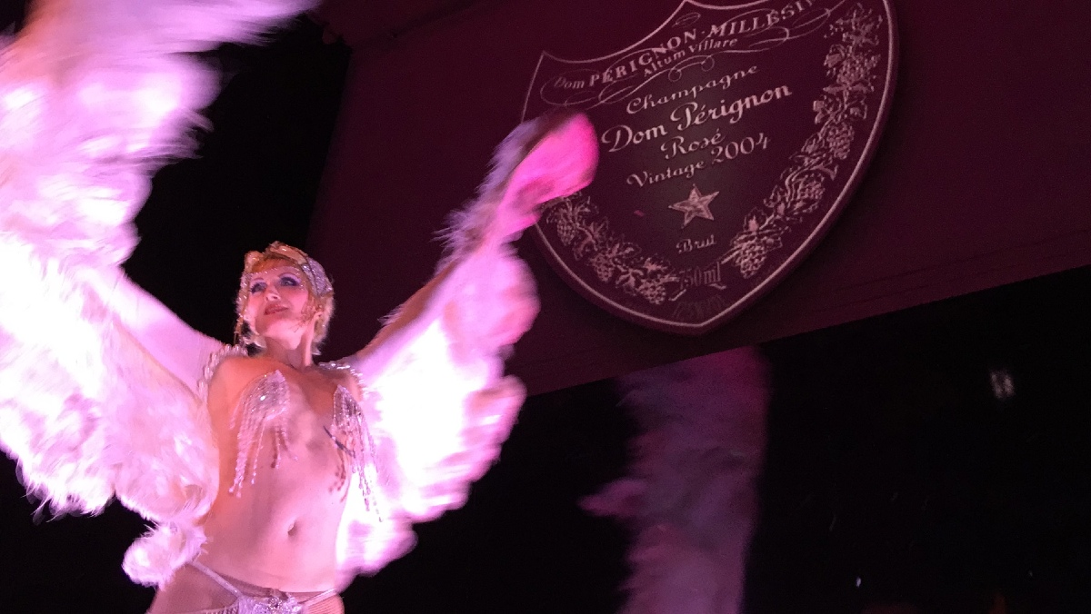 Dom Perignon Rose Vintage 2004 Cabaret Party 4